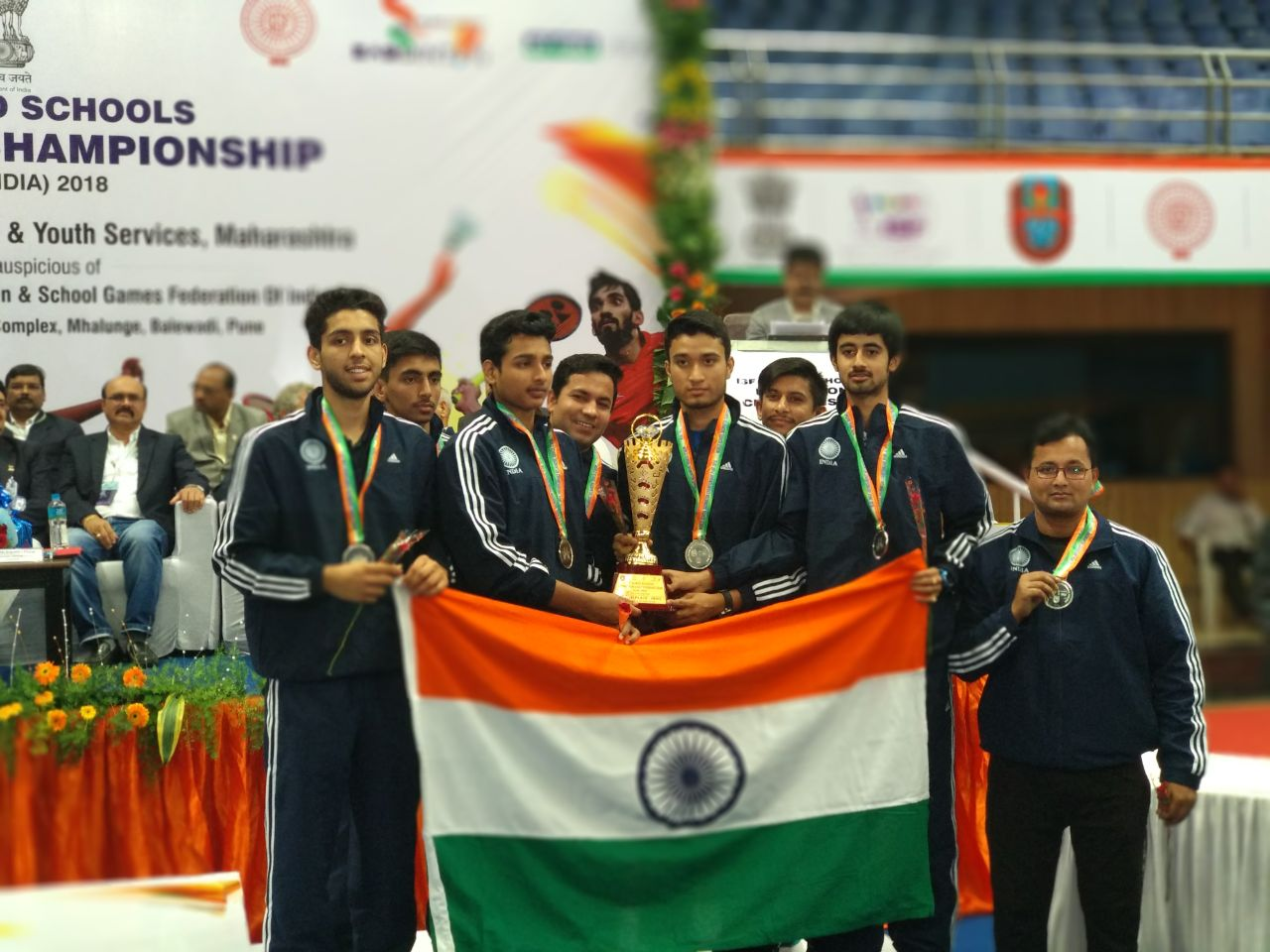 ISF WORLD SCHOOL BADMINTON CHAMPIONSHIP 2018, PUNE
